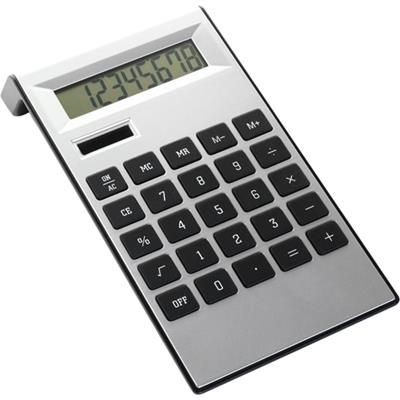 Picture of DESK CALCULATOR in Black & Silver