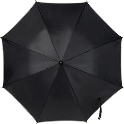Picture of REFLECTIVE HI VIZ UMBRELLA in Black