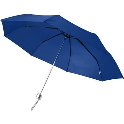 Picture of TELESCOPIC LADIES UMBRELLA in Blue
