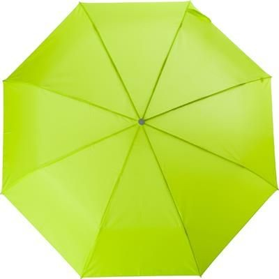 Picture of TELESCOPIC LADIES UMBRELLA in Light Green