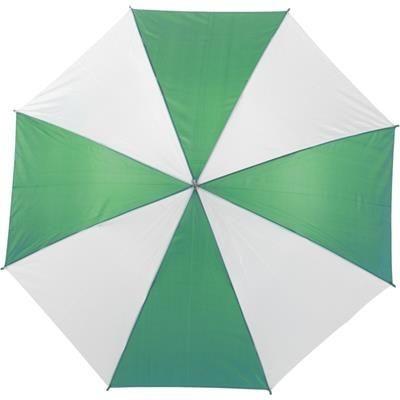 Picture of AUTOMATIC UMBRELLA in Green & White