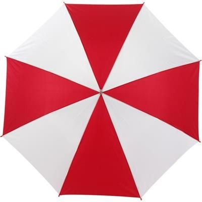 Picture of AUTOMATIC UMBRELLA in Red & White