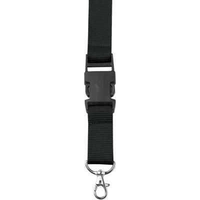 Picture of LANYARD in Black with Safety Clip & Key holder