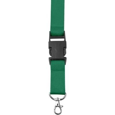 Picture of LANYARD in Green with Safety Clip & Key holder