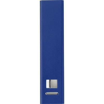 Picture of ALUMINIUM METAL POWERBANK in Cobalt Blue