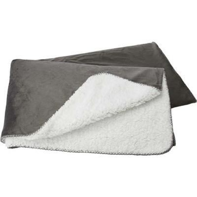 Picture of POLYESTER MICRO MINK ANTI-PILLING PICNIC BLANKET in Grey