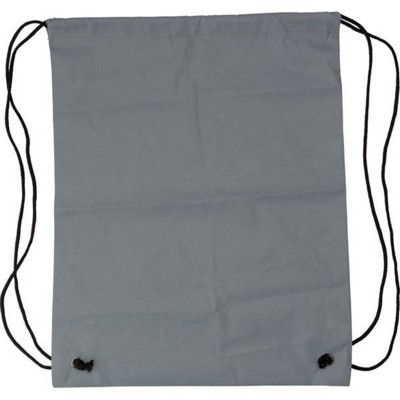 Picture of SYNTHETIC FIBRE (190D) REFLECTIVE DRAWSTRING BACKPACK RUCKSACK