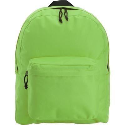 Picture of POLYESTER BACKPACK RUCKSACK in Light Green