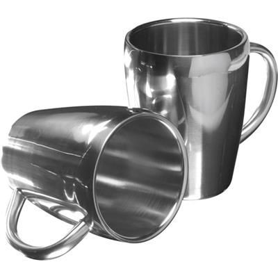 Picture of SET OF TWO STEEL MUG SET