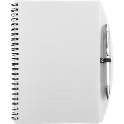 Picture of A5 SPIRAL SPIRAL WIRO BOUND NOTE BOOK AND BALL PEN