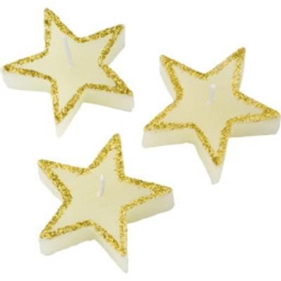 Picture of THREE STAR-SHAPED CANDLE