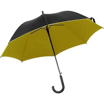 Picture of UMBRELLA in Black & Yellow