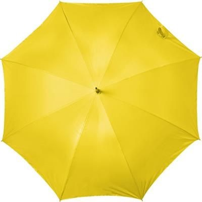 Picture of AUTOMATIC STORM PROOF UMBRELLA in Neon Fluorescent Yellow