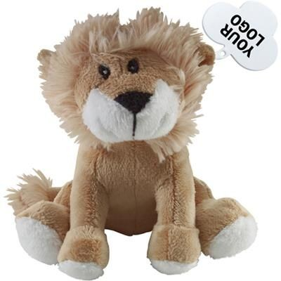 Picture of SOFT TOY LION includes Tag for Print Purposes