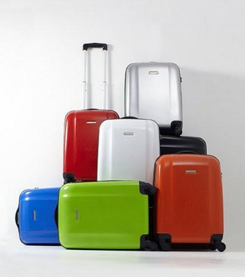 Picture of TROLLEY SUITCASE in Light Blue