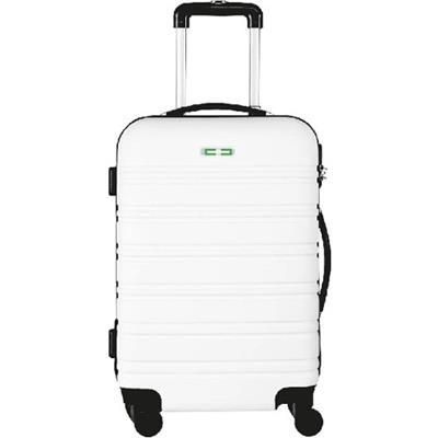 Picture of TROLLEY SUITCASE in White