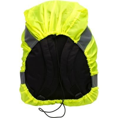 Picture of NYLON HIGH VISIBILITY ELASTICATED BAG COVER in Yellow