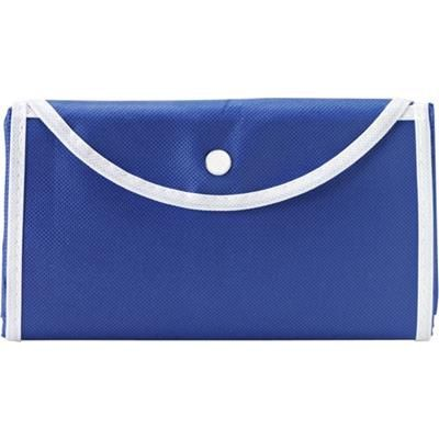 Picture of FOLDING SHOPPER TOTE BAG in Blue