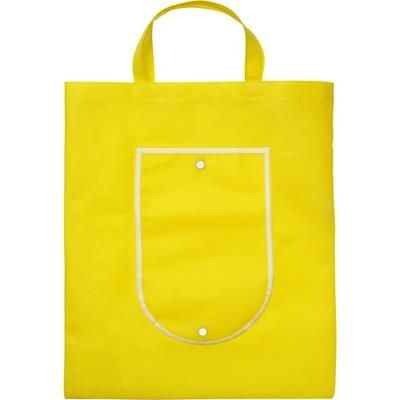 Picture of FOLDING SHOPPER TOTE BAG in Yellow