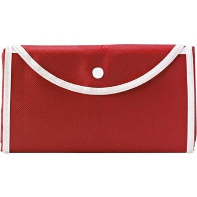 Picture of FOLDING SHOPPER TOTE BAG in Red