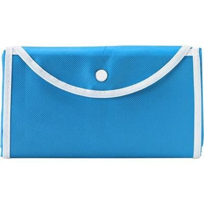Picture of FOLDING SHOPPER TOTE BAG in Pale Blue