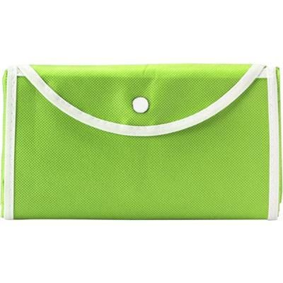 Picture of FOLDING SHOPPER TOTE BAG in Light Green