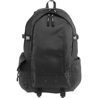 Picture of EXPLORER BACKPACK RUCKSACK in Black