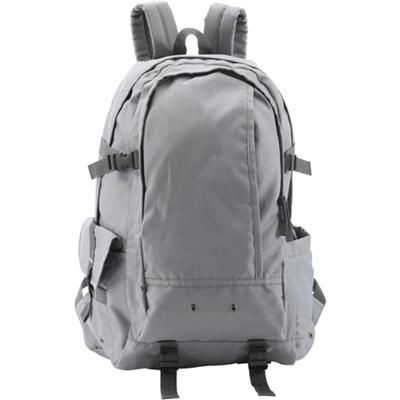 Picture of EXPLORER BACKPACK RUCKSACK in Grey
