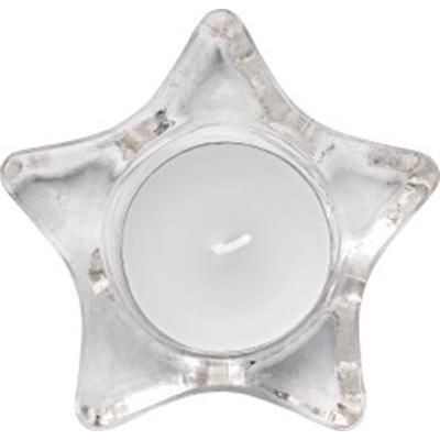 Picture of STAR-SHAPED GLASS CANDLE HOLDER