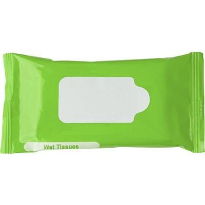 Picture of WET WIPE TISSUE PACK in Pale Green