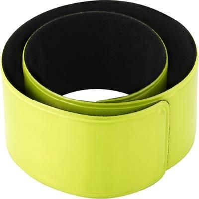 Picture of PLASTIC NEON SNAP ARM BAND in Yellow