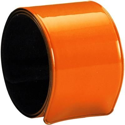 Picture of PLASTIC NEON SNAP ARM BAND in Orange