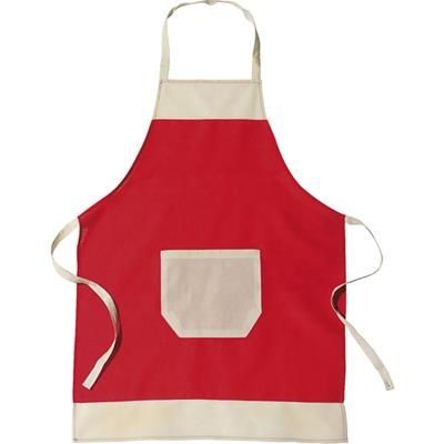 Picture of APRON in Red