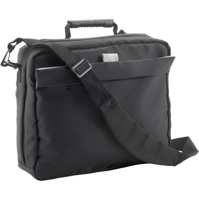 Picture of CAMBRIDGE DOCUMENT LAPTOP BAG in Black