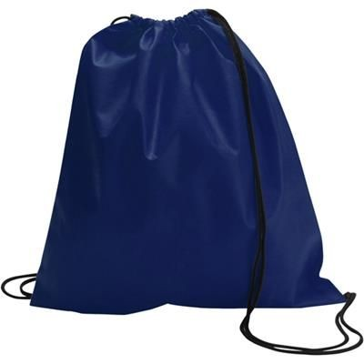 Picture of DRAWSTRING BACKPACK RUCKSACK in Blue