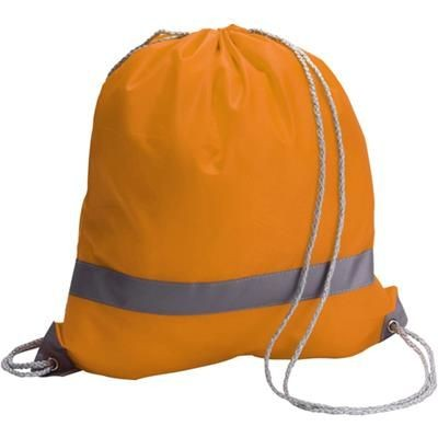 Picture of REFLECTIVE BACKPACK RUCKSACK in Orange