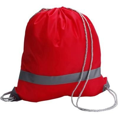 Picture of REFLECTIVE BACKPACK RUCKSACK in Red