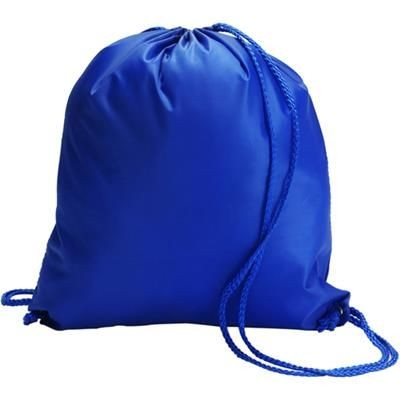Picture of DRAWSTRING BACKPACK RUCKSACK in Royal Blue
