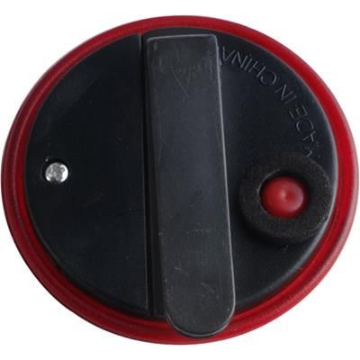 Picture of ROUND SAFETY LAMP with Clip in Red