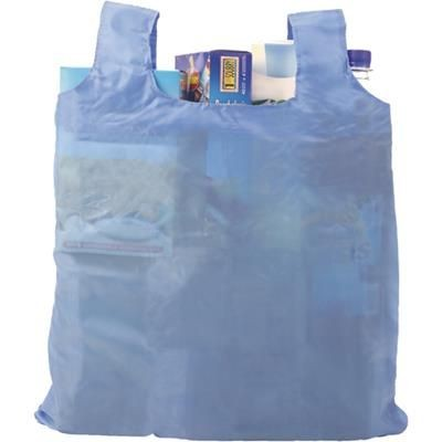 Picture of FOLDING POLYESTER (190T) CARRYING & SHOPPER TOTE BAG