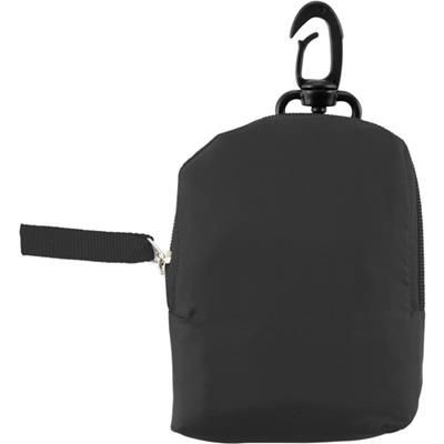 Picture of FOLD UP SHOPPER TOTE BAG in Black