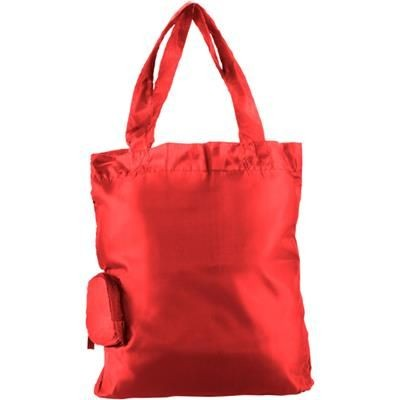 Picture of FOLD UP SHOPPER TOTE BAG in Red