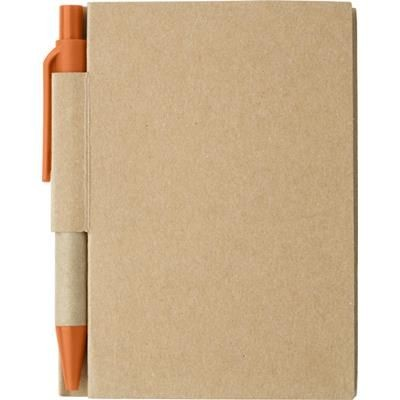 Picture of SMALL JOTTER NOTE BOOK in Orange