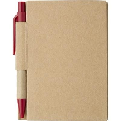 Picture of SMALL JOTTER NOTE BOOK in Red