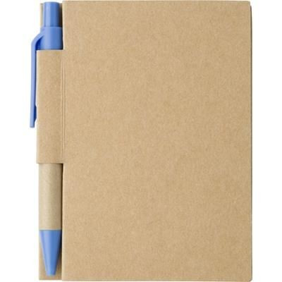 Picture of SMALL JOTTER NOTE BOOK in Pale Blue