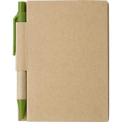 Picture of SMALL JOTTER NOTE BOOK in Pale Green