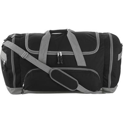 Picture of SPORTS TRAVEL BAG in Black