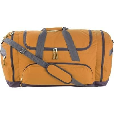 Picture of SPORTS TRAVEL BAG in Orange
