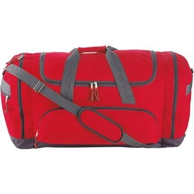 Picture of SPORTS TRAVEL BAG in Red