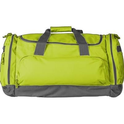 Picture of SPORTS TRAVEL BAG in Bright Yellow